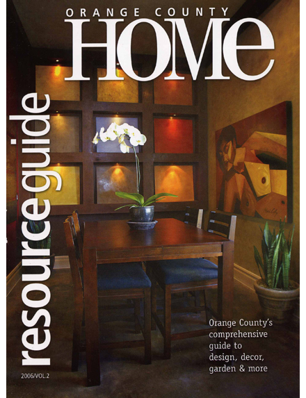 Orange County Home Resource Guide Cover