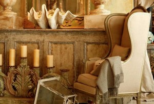 Rustic and Neutral Vignette Design