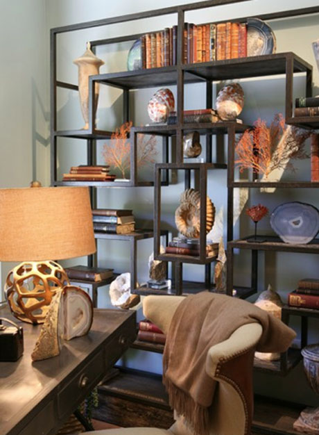 Shelving Unit Vignette