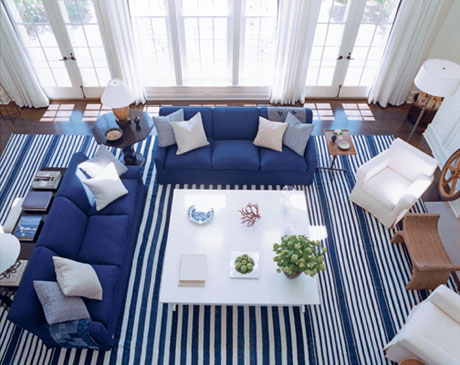 Living Room Nautical Design