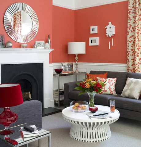 Orange County Living Room Color