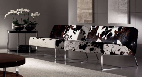 Modern Cow Hide Sofas