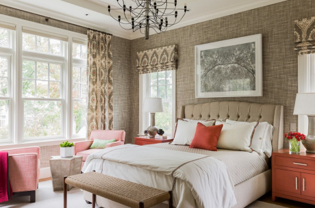 Bedroom Design Window Treatments