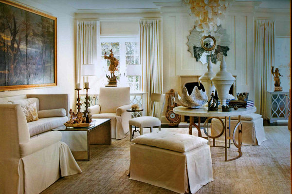 1 neo classical neutral living room interior design 600 for Neutral interior design