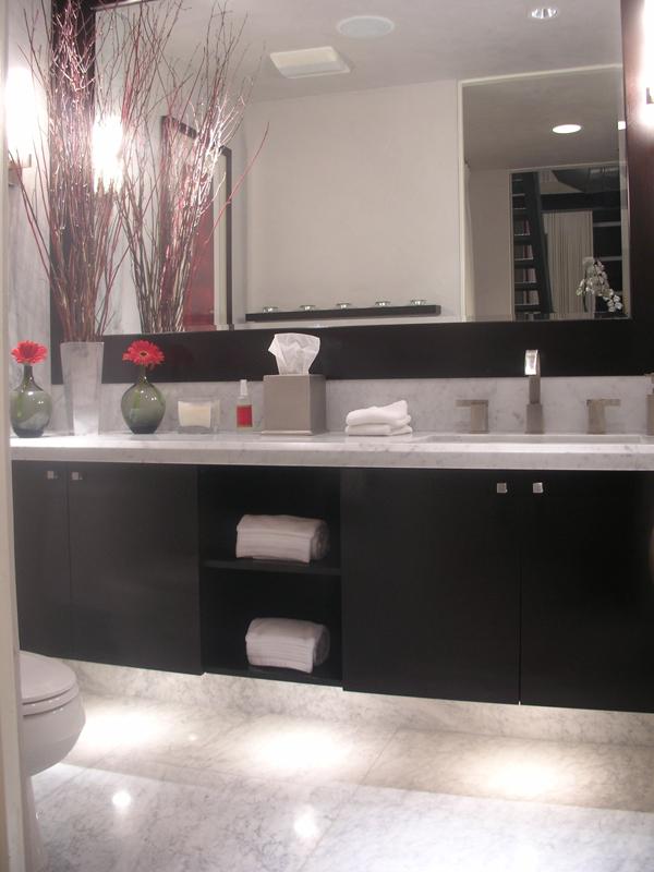 Cp Loft Modern Powder Bathroom Interior Design 600