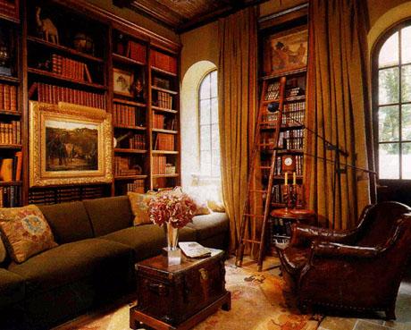 Spanish Library Design