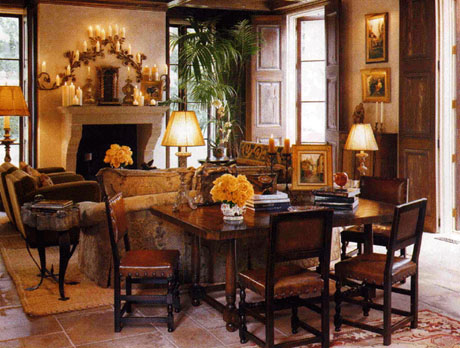Spanish Living Room Design.  Spanish Living Room Design