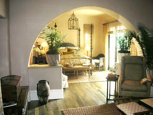 Spanish neutral bedroom interior design 600 for Spanish bedroom decor
