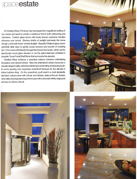 Press for orange county interior designer cj interiors for Interior design magazine