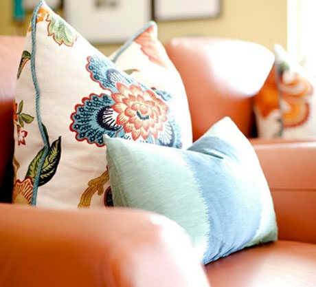Orange-Turquoise-Chair-Pillow-Interior