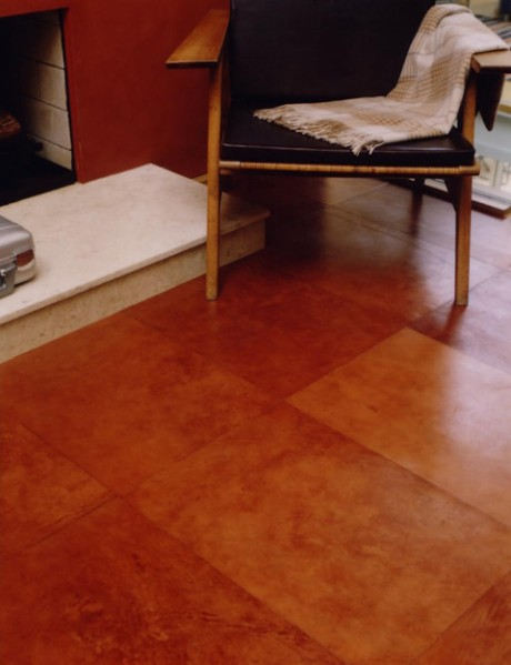 Leather Floor Tiles is One of the Newest Interior Design Trends