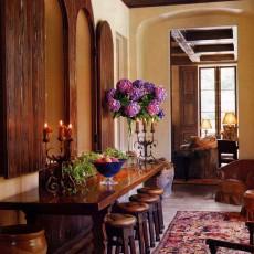 Mediterranean, Spanish &Tuscan Interior Design – Newport Coast, CA