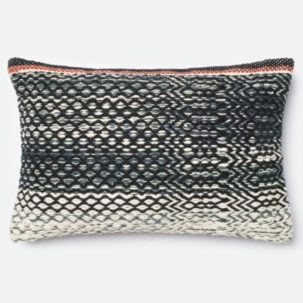 Black-White-Grey-Red-Kidney-Pillow