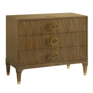 Atherton Teak Bachelor's Chest Brownstone Furniture