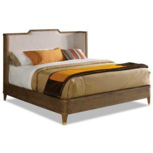 Atherton Teak Bed Brownstone Furniture
