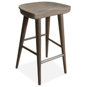 Balboa Driftwood Stool Brownstone