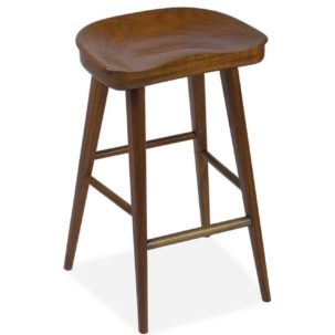 Balboa Hazelnut Stool Brownstone