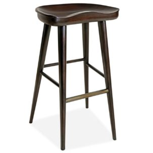 Balboa Midnight Stool Brownstone