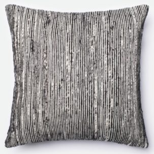 Black Silver Pillow