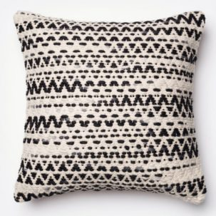 Black White Grey Pillow