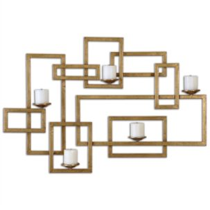 Brighton Gold Wall Sconce