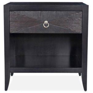 Camden One Drawer Nightstand Brownstone Furniture