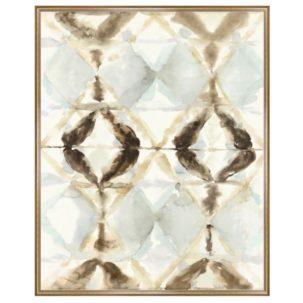 Crystal Curtain Abstract Art