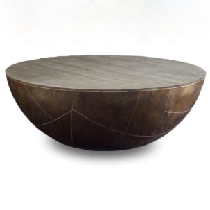 Delano Drum Coffee Table Brownstone Furniture