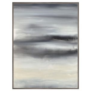 Dolce Grays Abstract Art