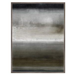 Foggy Blush Abstract Art