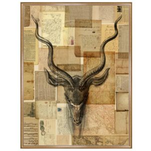 Gazelle Vintage Art