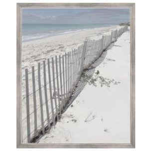 Hamptons View Fence Art 6