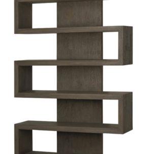 Harrison Driftwood Bookcase Brownstone Furniture