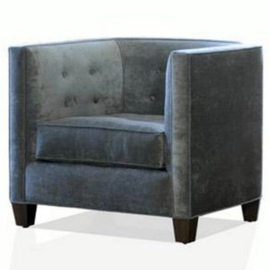 Lauren Club Chair Nathan Anthony Furniture