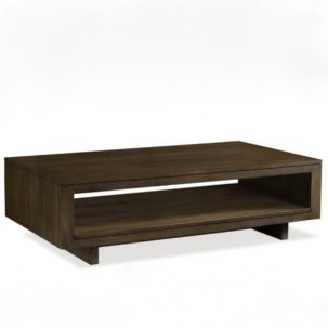 Messina Slat Coffee Table Brownstone Furniture