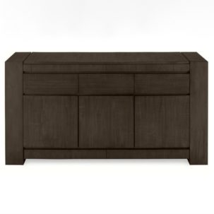 Messina Smokey Brown Server Brownstone Furniture
