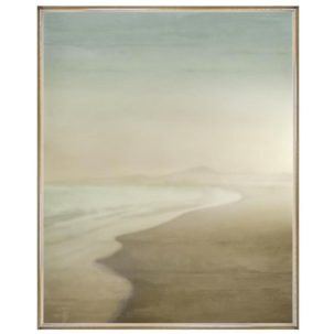 Misty Shore Coastal Art