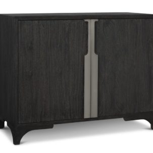 Palmer Mink Two Door Accent Chest Brownstone Furniture