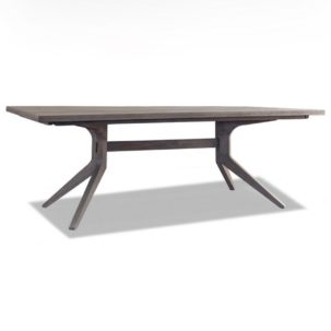 Palmer Modern Trestle Dining Table Brownstone Furniture