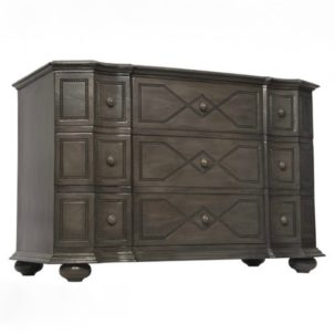 Pesaro Dresser Pale Noir Furniture