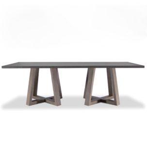 Saratoga Rectangular Dining Table Brownstone Furniture