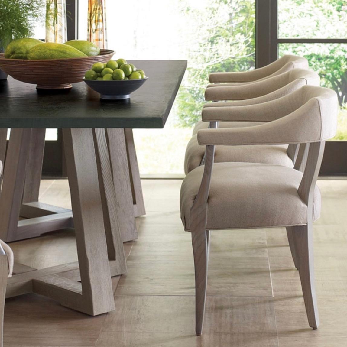 Saratoga Rectangular Dining Table « Newport Coast Interior