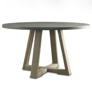 Saratoga Round Dining Table Brownstone Furniture