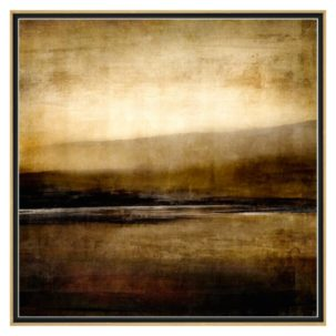 Sepia View Abstract Art