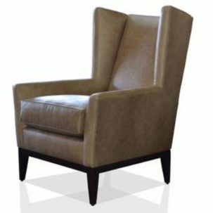 Stuart Leather Chair Nathan Anthony Furniture