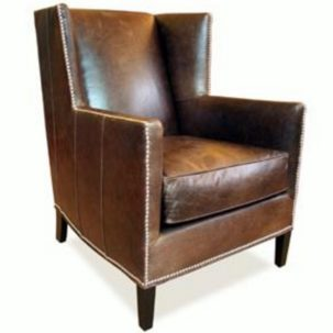 Twain Leather Chair Nathan Anthony Furniture