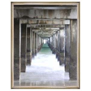 Vanishing Point Pier Photograpy Art 1