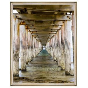 Vanishing Point Pier Photography Art 2