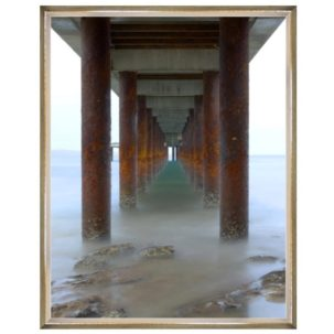 Vanishing Point Pier Photography Art 3