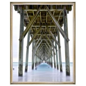 Vanishing Point Pier Photography Art 4